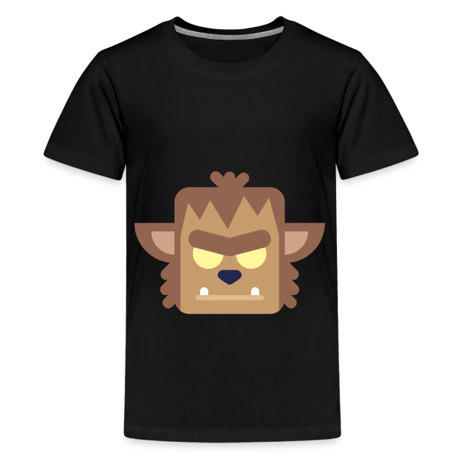 Werewolf - Teenager premium T-shirt