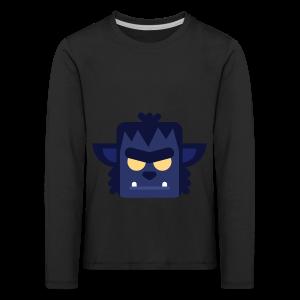 Dark Werewolf - Premium Børne Langærmet - Børne premium T-shirt med lange ærmer