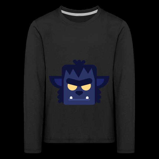 Dark Werewolf - Premium Børne Langærmet