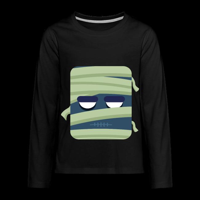 Mummy - Teenager premium T-shirt med lange ærmer