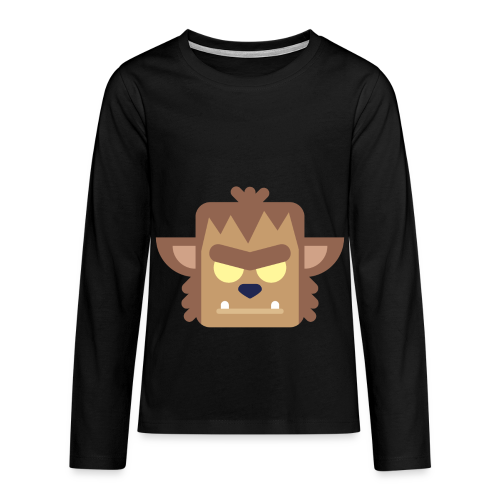 Werewolf - Teenager premium T-shirt med lange ærmer - Teenager premium T-shirt med lange ærmer