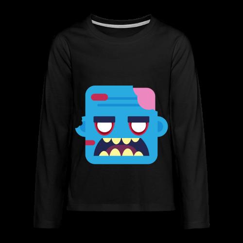Zombob - Teenager premium T-shirt med lange ærmer - Teenager premium T-shirt med lange ærmer