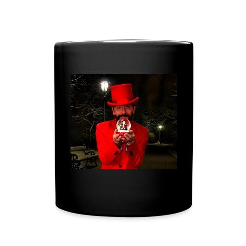 Tasse schwarz, Motiv Mike Weihnachten - Tasse einfarbig