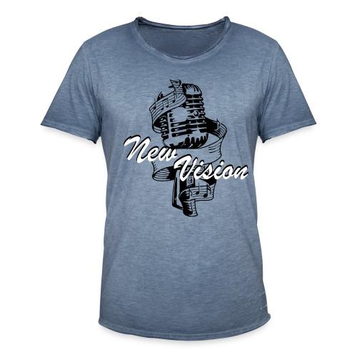 New Vision T-Shirts - Männer Vintage T-Shirt