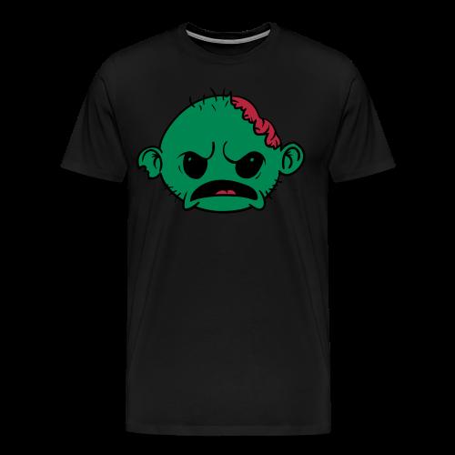 Zombob Green - Herre premium T-shirt - Herre premium T-shirt