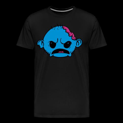 Zombob Blue - Herre premium T-shirt - Herre premium T-shirt