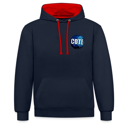 Cote Sweater - Contrast Colour Hoodie