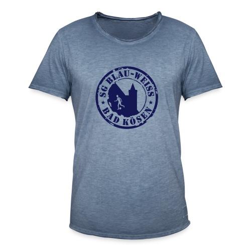 Vintage-Stencil-T - Männer Vintage T-Shirt