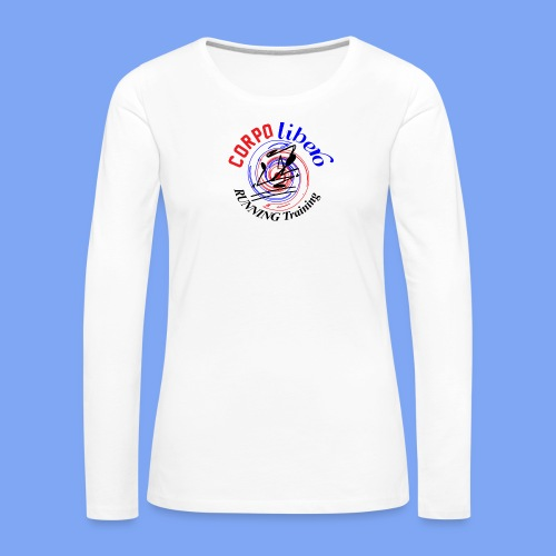 Running Training - Maglietta Premium a manica lunga da donna