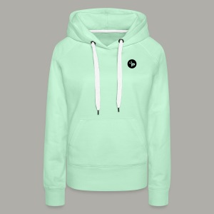 Pandastic Sweater Woman Mint - Frauen Premium Hoodie