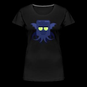 Cthulhu Dame premium T-shirt - Dame premium T-shirt