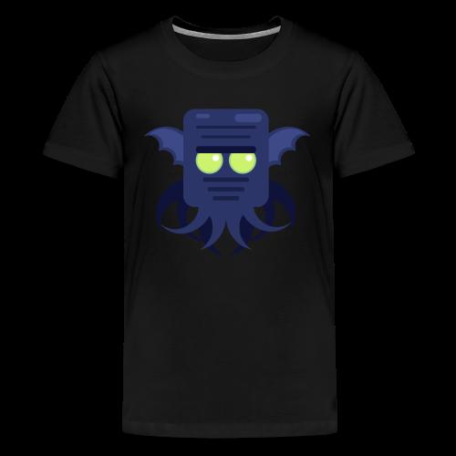 Cthulhu Teenager premium T-shirt - Teenager premium T-shirt