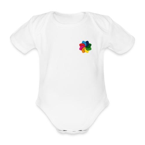 Baby Croqqer - Baby bio-rompertje met korte mouwen
