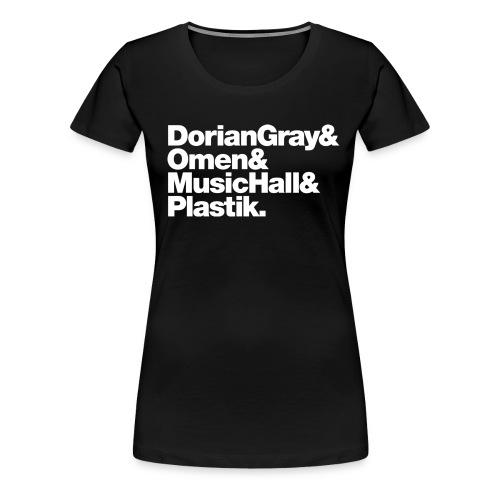 Frankfurt Classics (Girls Basic Tee) - Frauen Premium T-Shirt