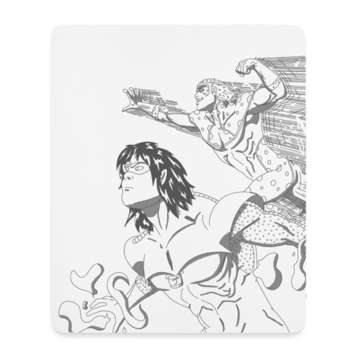 Mighty Jambo Mousemat - Mouse Pad (vertical)