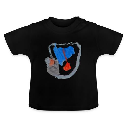 Mütze von Ronja auf schwarzem Kindershirt - Baby T-Shirt