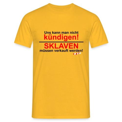 Sklaven müssen verkauft werden VloGaFlo Shirt  - Männer T-Shirt