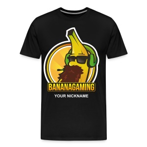 Custom Banana Shirt - Men's Premium T-Shirt