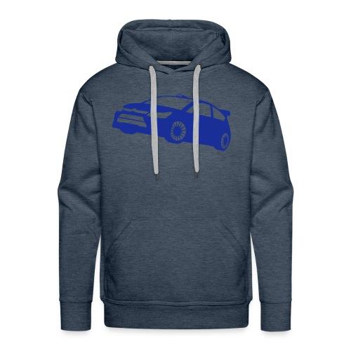 WRC - Felpa con cappuccio premium da uomo