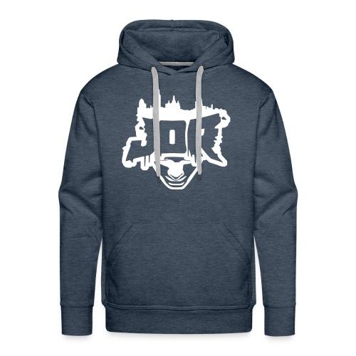 JOR Jeansblau Premium - Männer Premium Hoodie