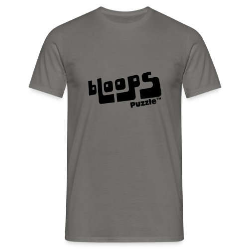 Men's T-Shirt bLoops Puzzle (printed black) - Men's T-Shirt