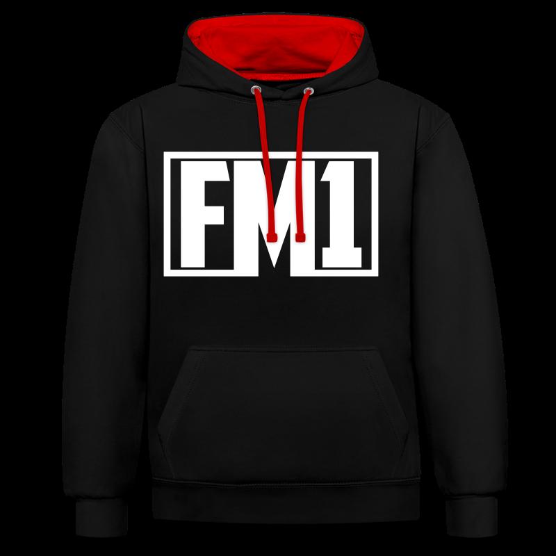 FM1 Hoodie (unisex) - Kontrast-hættetrøje