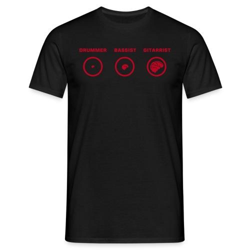 Evolution black - Männer T-Shirt