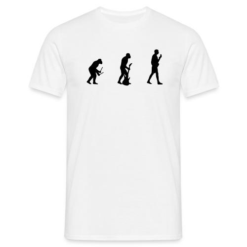 Evolution white - Männer T-Shirt