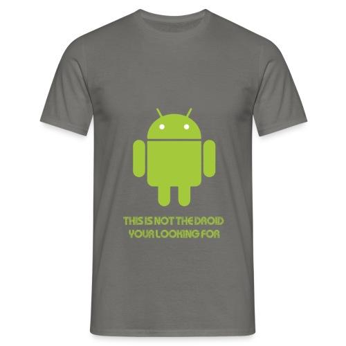 Droid  - Men's T-Shirt