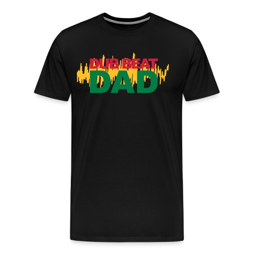Dub Beat Dad - Men's Premium T-Shirt