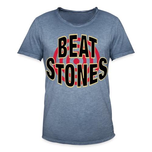 Beatstones - Männer Vintage T-Shirt