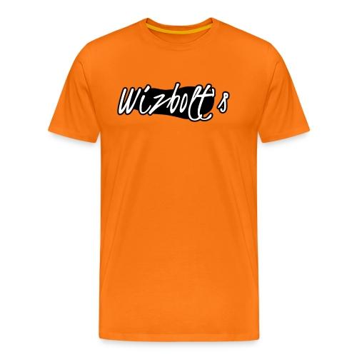 Wizbolt Logo (White Text) - Men's Premium T-Shirt