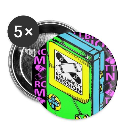 Einzollanstecker - Buttons klein 25 mm