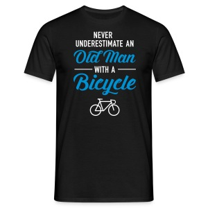 Old Man - Bicycle T-shirts - Mannen T-shirt