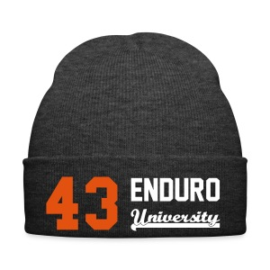Bonnet 43 enduro University marquage orange - Bonnet d'hiver
