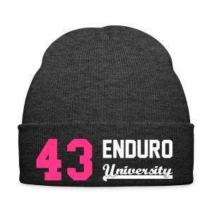 Bonnet 43 enduro University marquage rose - Bonnet d'hiver