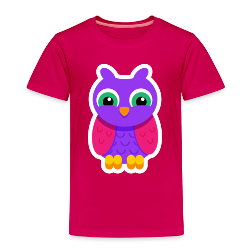 Owlford Violet - Børne premium T-shirt - Børne premium T-shirt