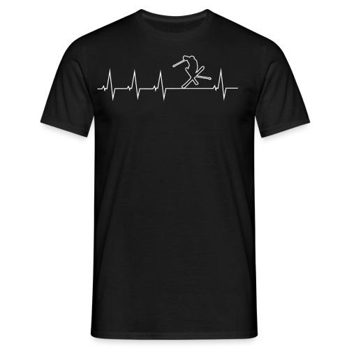 Ich liebe Skifahren - Männer T-Shirt