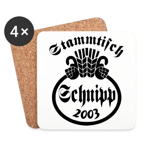 Bierparkblotz Schnipp2003 - Untersetzer (4er-Set)