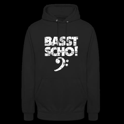 Basst Scho Vintage (Weiß) Bass Hoodie - Unisex Hoodie