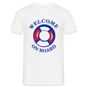 welcome aboard HB LMV TM - T-shirt Homme