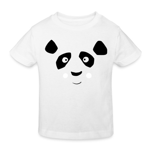 Kids Panda Bär - Kinder Bio-T-Shirt