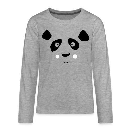 Panda Bär Langarm Shirt - Teenager Premium Langarmshirt