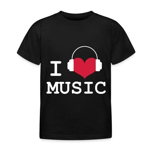 I love Music - child - Kids' T-Shirt
