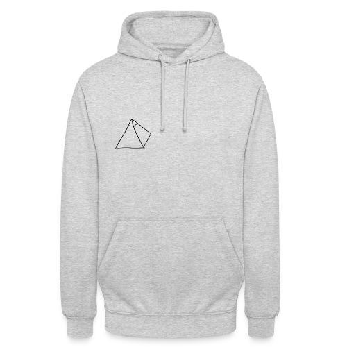 Pull Unisexe avec le logo (Gris) - Sweat-shirt à capuche unisexe