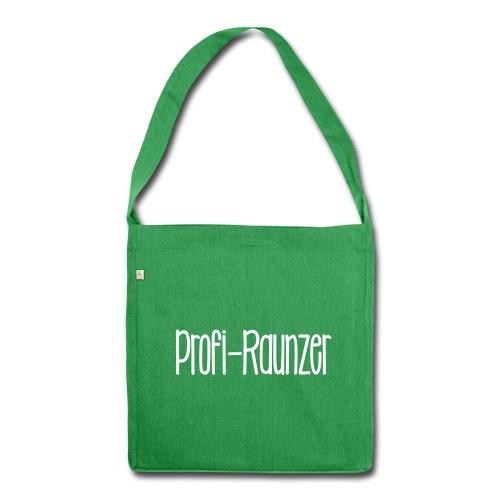 Profi-Raunzer - Schultertasche aus Recycling-Material
