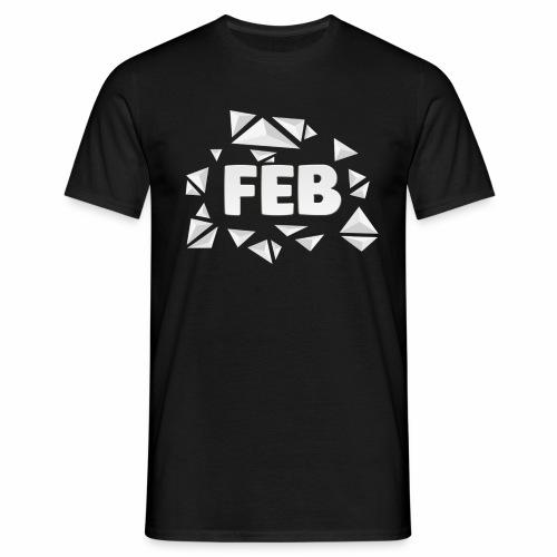 Männer Feb-Shirt - Männer T-Shirt