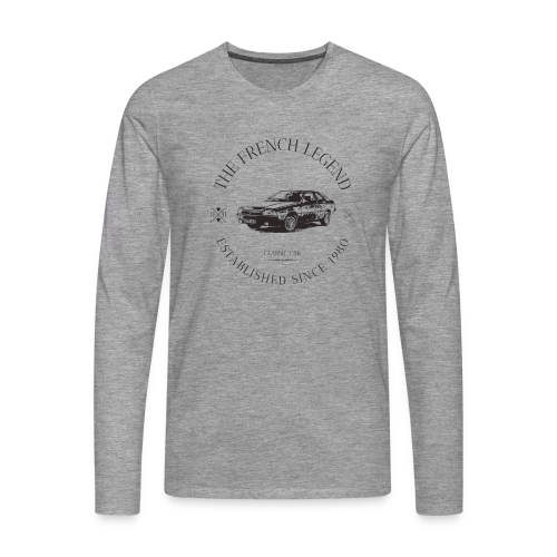 RENAULT FUEGO FRENCH CAR - T-shirt manches longues Premium Homme