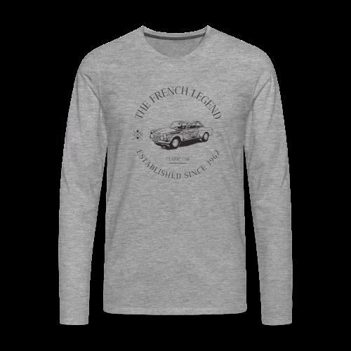 PEUGEOT 404 coupé FRENCH CAR - T-shirt manches longues Premium Homme