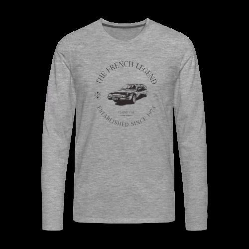 CITROEN CX FRENCH CAR - T-shirt manches longues Premium Homme